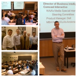 DAA at the Wharton School, talking a career in analytics