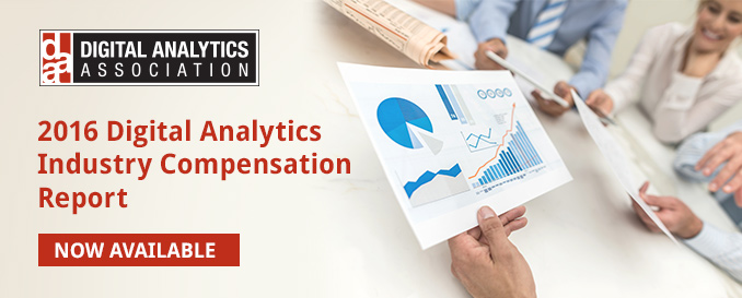 Digital Analytics Industry Compensation Study Report from DAA